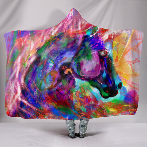 Eva Unicorn Hooded Blanket