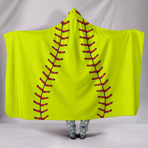 Softball 2.0 Hooded Blanket