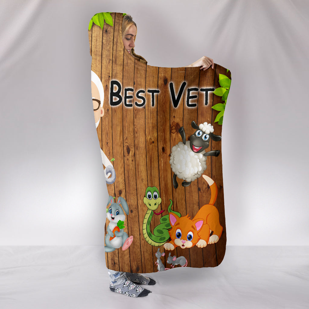 Best Veterinarian Hooded Blanket