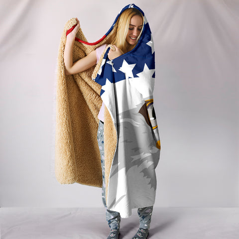 Image of USA Hooded Blanket