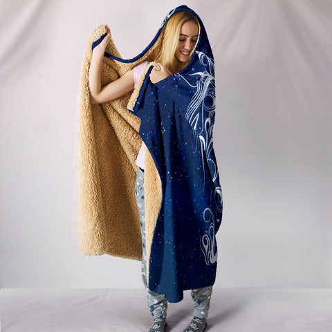 Image of Night Horse II Hooded Blanket