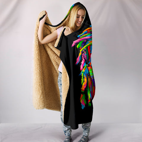 Image of Lion Hooded Blanket