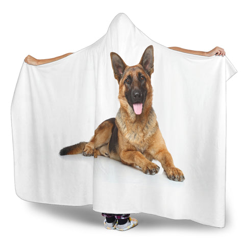 Image of German Shepherd Hooded Blanket