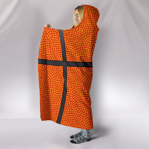 Image of Basketball Hooded Blanket