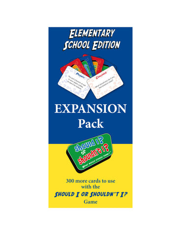 Should I? or Shouldn't I? Elementary School Expansion Pack - Social Thinking Singapore