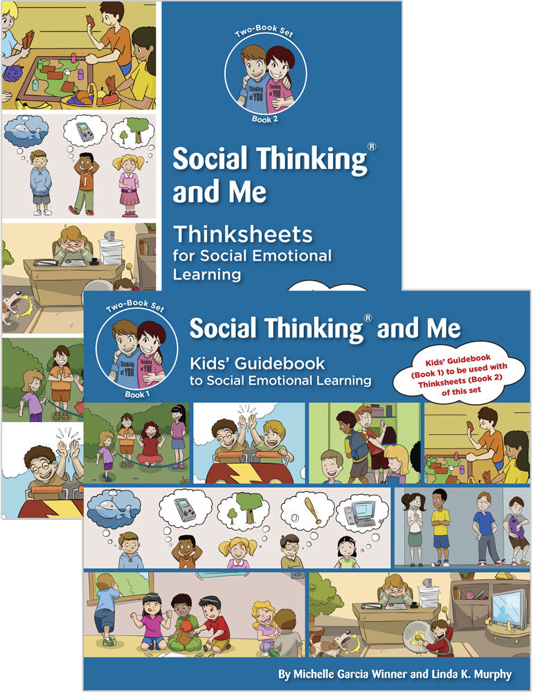 Social Thinking and Me (Two-Book Set) - Social Thinking Singapore