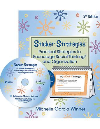 Sticker Strategies - Practical Strategies to Encourage Social Thinking 2nd Edition - Social Thinking Singapore