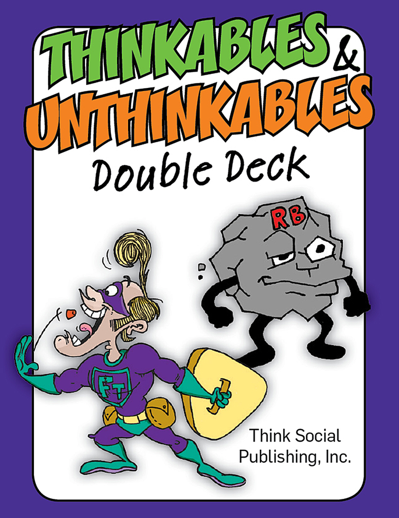 Thinkables & Unthinkables Double Deck - Social Thinking Singapore
