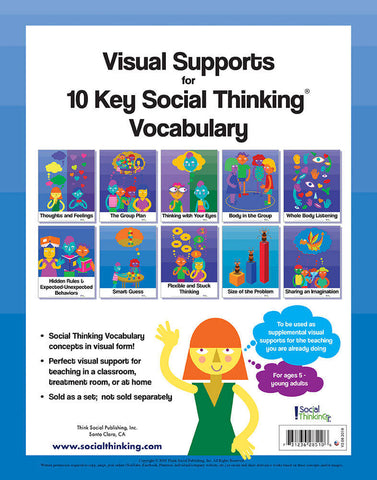 Visual Supports for 10 Key Social Thinking Vocabulary Concepts