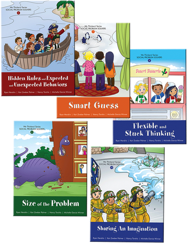 We Thinkers! Volume 2 - Five Storybook Set - Social Thinking Singapore