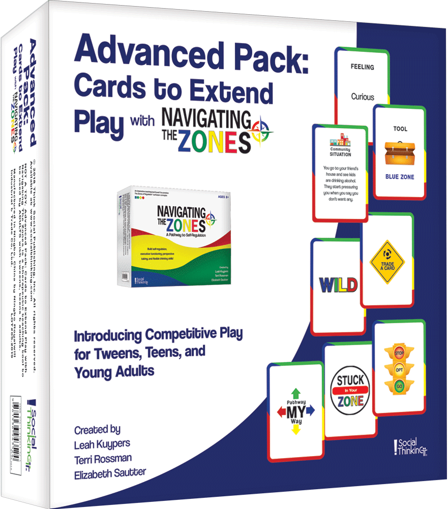 Advanced Pack: Cards to Extend Play with Navigating The Zones