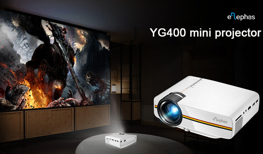 Elephas YG400 Mini Projector Review