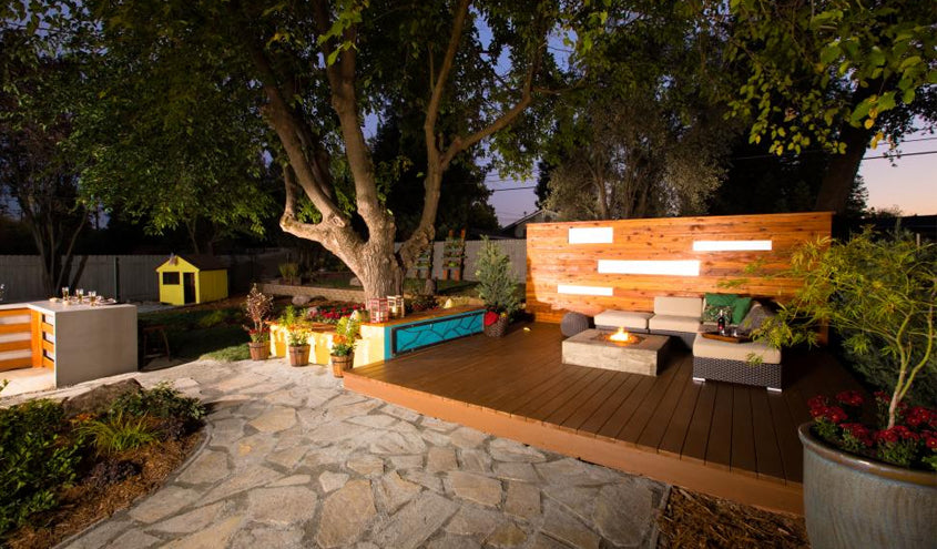 Why not build an amazing backyard theater?