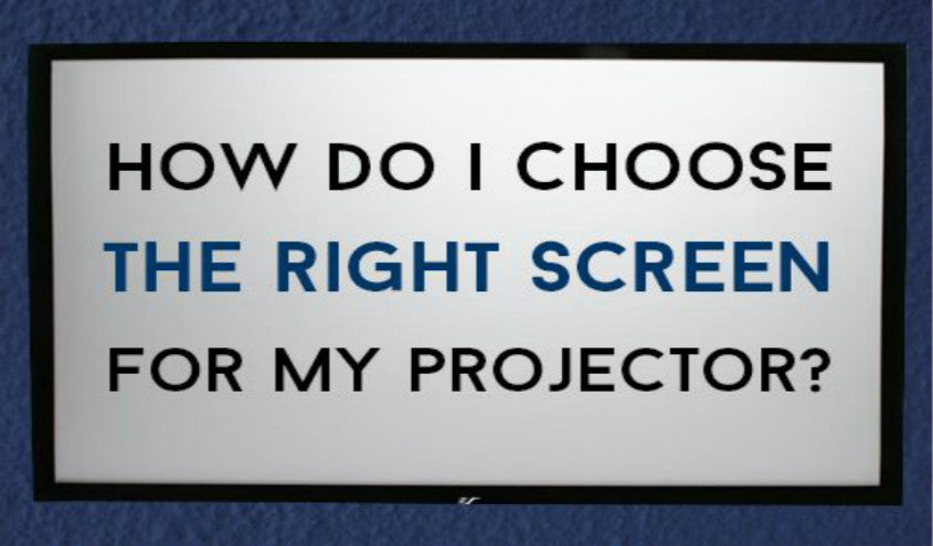 How to Choose a Projector Screen in 2019?