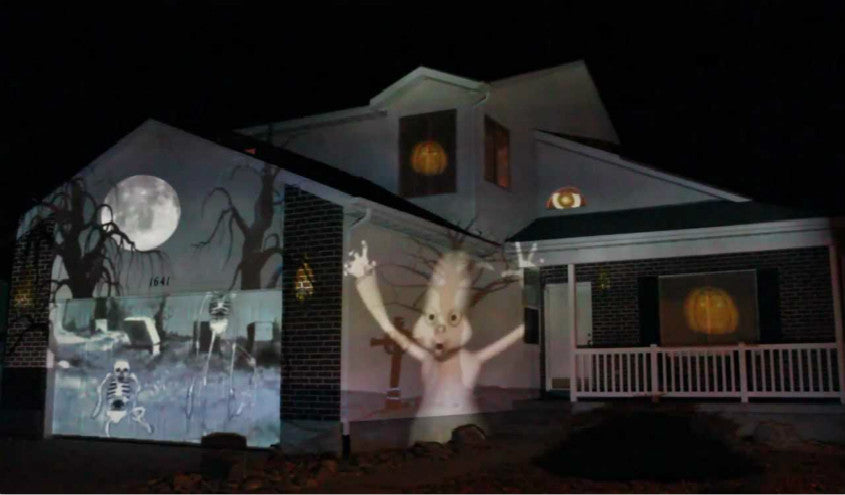 Best Halloween Tips and Themes  with Home Projector