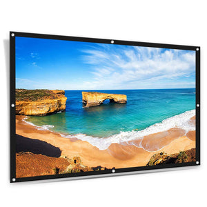 "ELEPHAS Portable 100""16:9 HD Rollable Anti-Crease Lightweight Projector Screen"