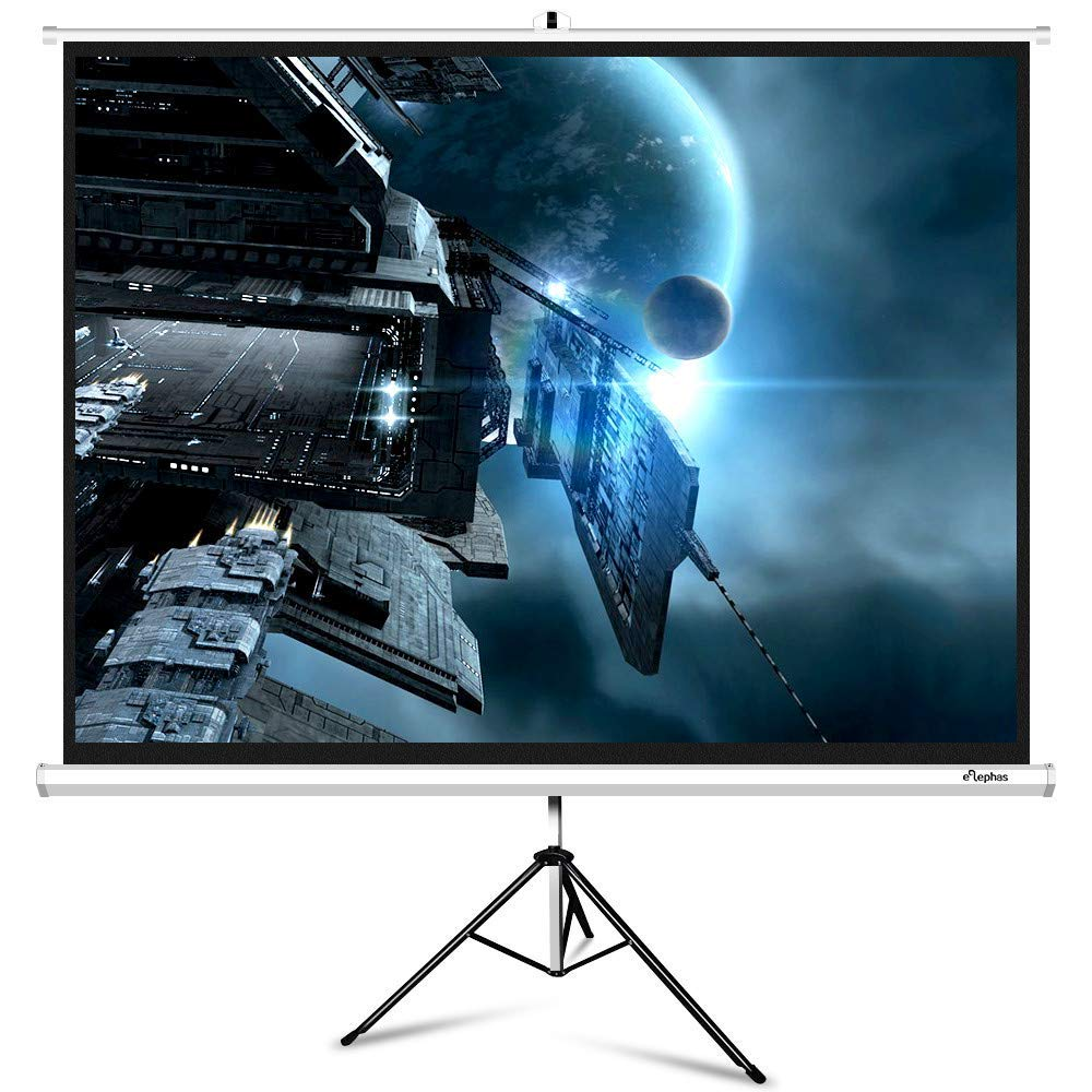 ELEPHAS Portable Projector Screen with Stand