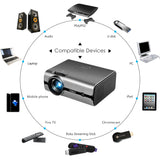 LED Video Multimedia Projector 2000 Lumens -BL45 - Alphas