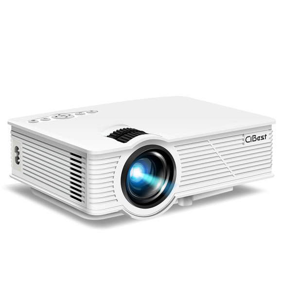 LED Mini Portable Movie Video Projector 1500 Luminous - GP9