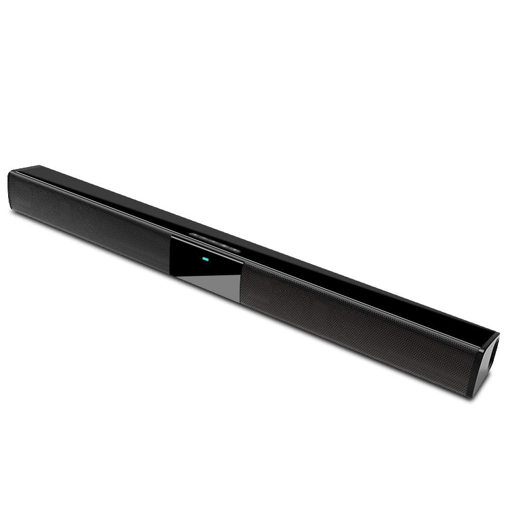 GooDee 2.0 Channel Wired & Wireless Bluetooth Sound Bar 22inch