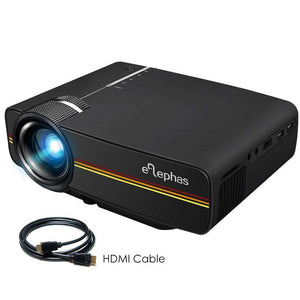 LED Mini Video Projector 1800 Lumens - YG400 - Alphas