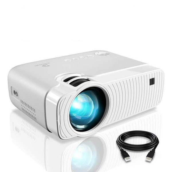 GC333 Two Built-in Speakers Mini LED Video Projector