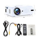 Video Movie Projector 1600 Lumens - BL90-Alphas
