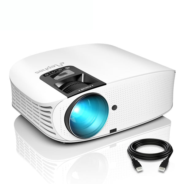 ELEPHAS YG600 Brighter Home Video LED LCD Projector