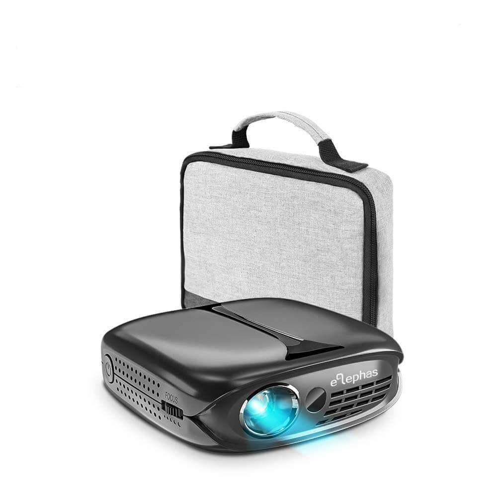 ELEPHAS Multiple 3D Imaging Pocket Projector-Grey