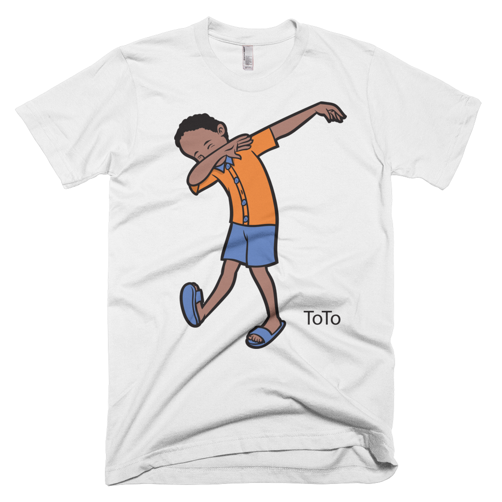 A customer has left a review of ToTo Dabbing T-shirt Blog Post