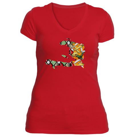 Alma Matter V Neck - Haitian Clothing