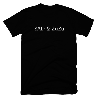 Bad & Zuzu (Black version) T-shirt - Haitian Clothing