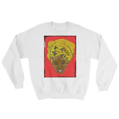Crew Neck Haitan Queen Sweatshirt - Haitian Clothing