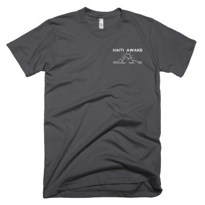 Haiti Awake Short Sleeved T-Shirt - Haitian Clothing