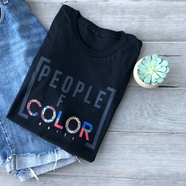 People Of Color T-shirt - Haitian Clothing