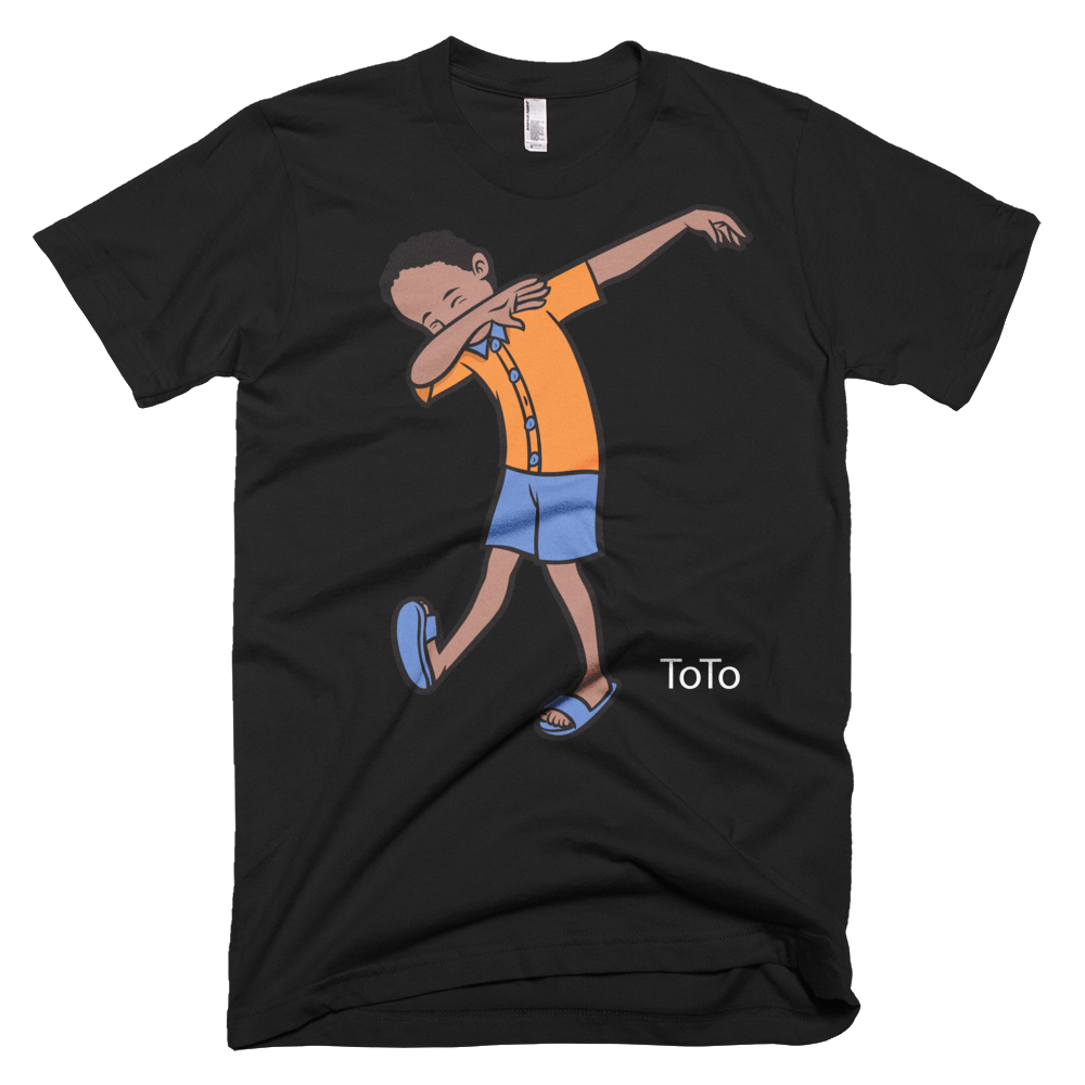 ToTo Dabbing Haitian inspired Fashionable Graphic T-shirt