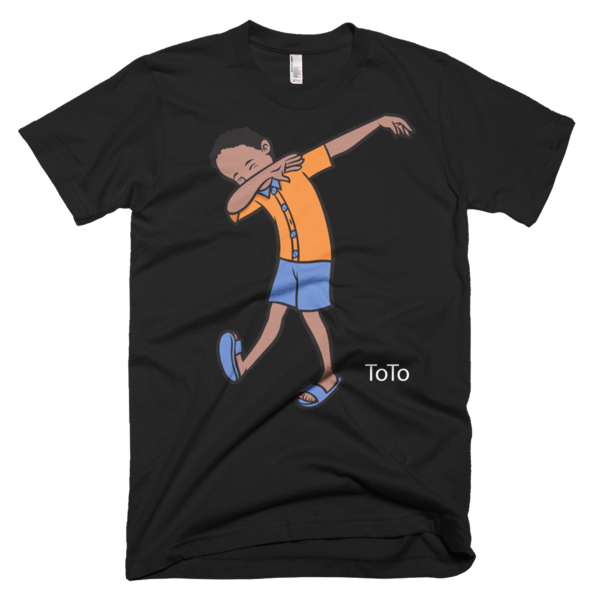 Ladies ToTo Dabbing T-shirt - Haitian Clothing