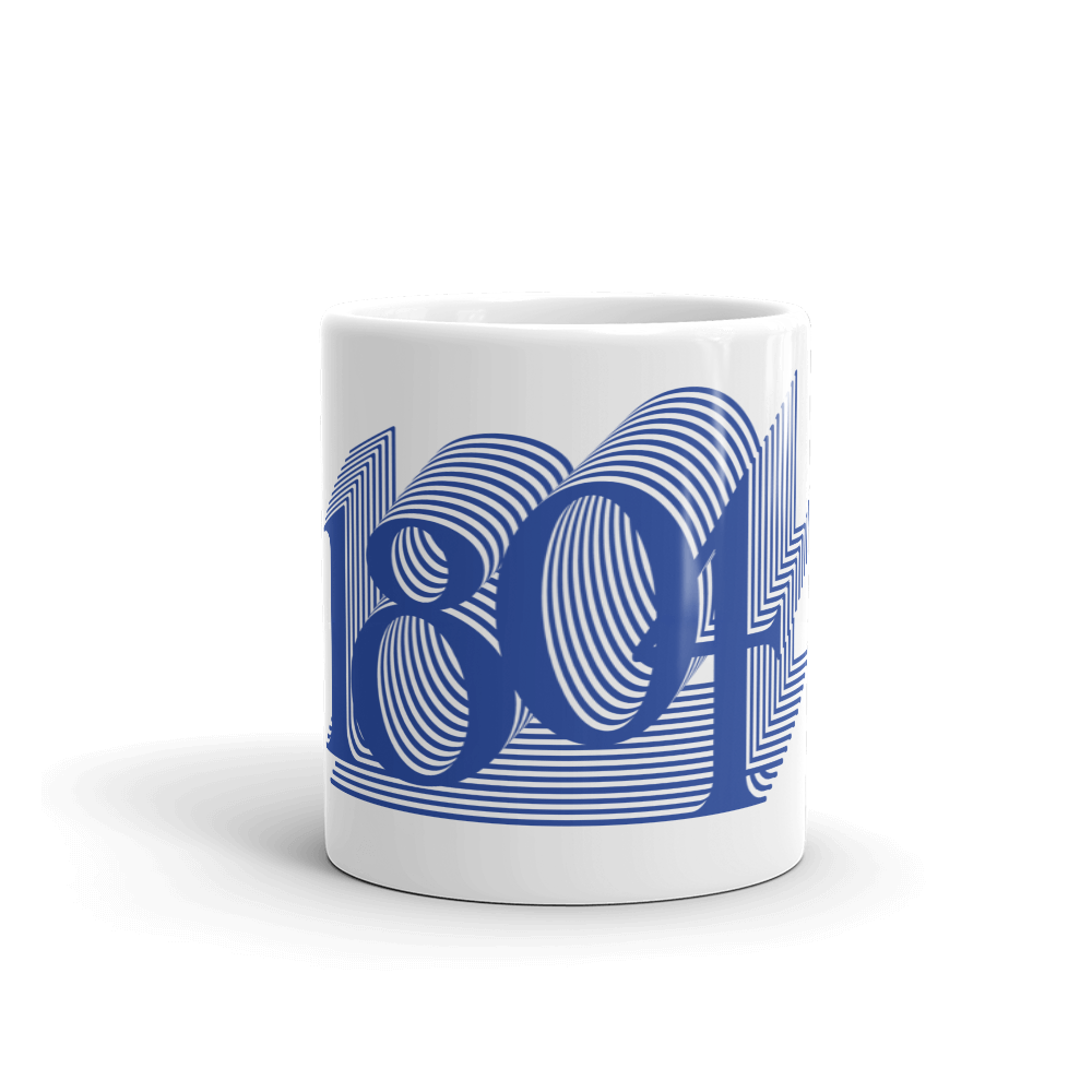 1804 Blue Mug - Haitian Clothing