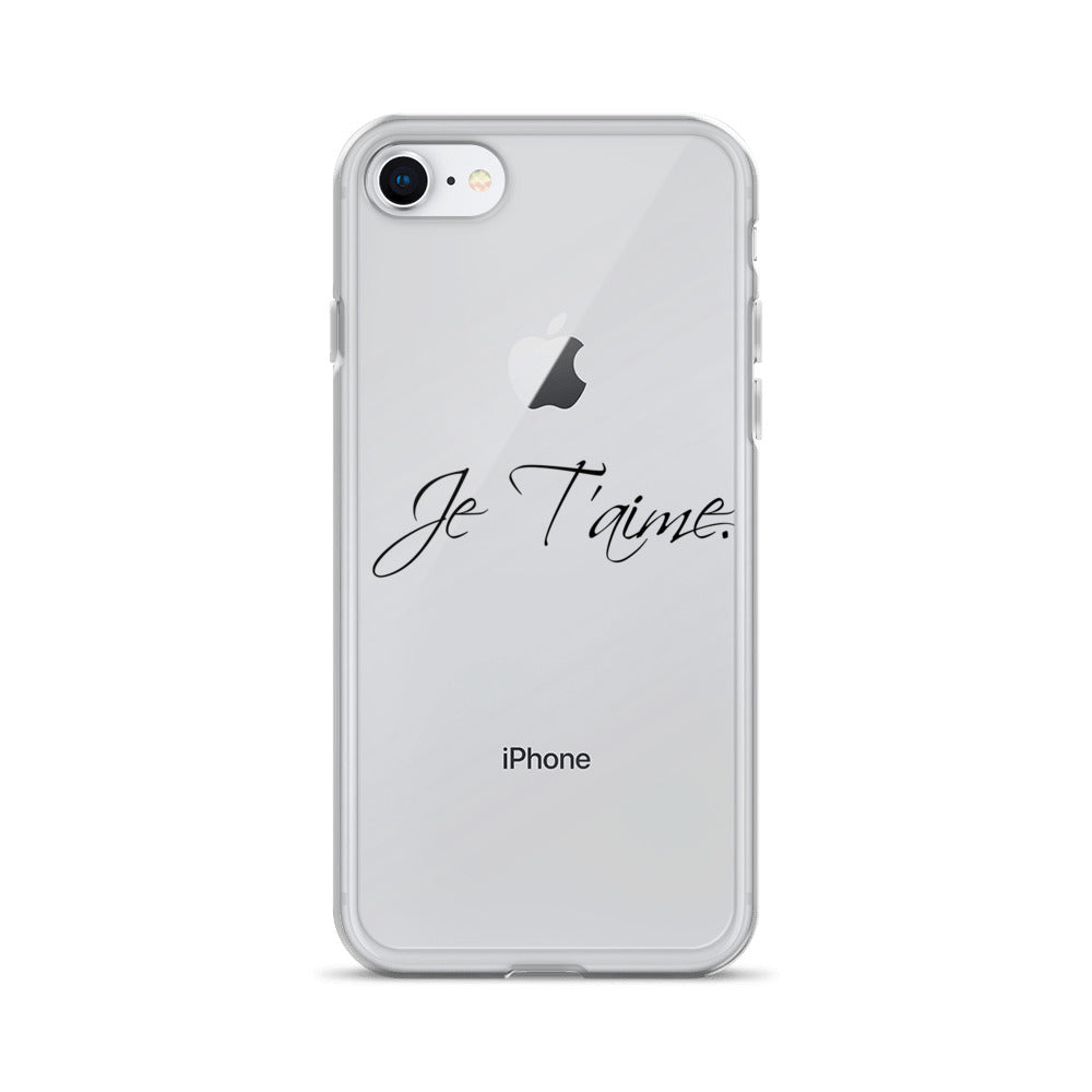 Iphone Case  Je t'aime, great for gift