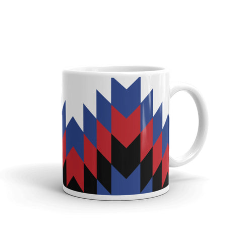 Coffee and tea Mug with Haitian flag design