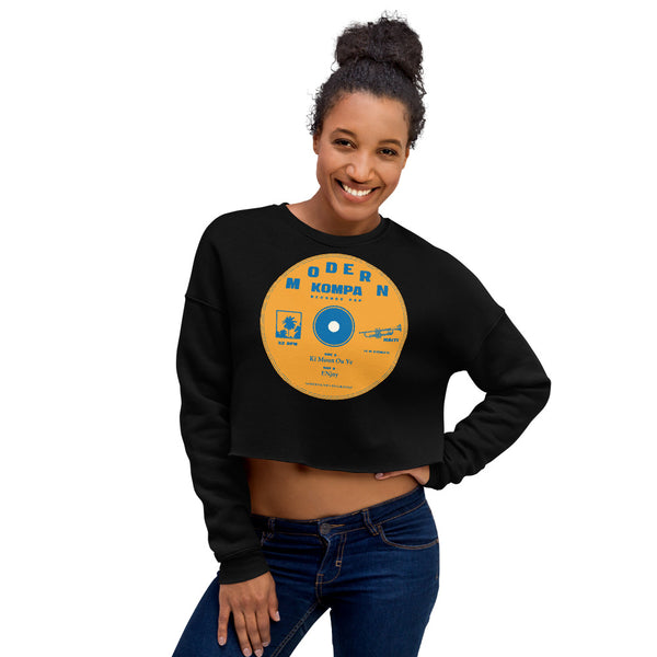 Crop Sweatshirt - Haitian Clothing