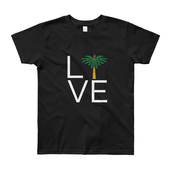 Youth Short Sleeve T-Shirt - Haitian Clothing