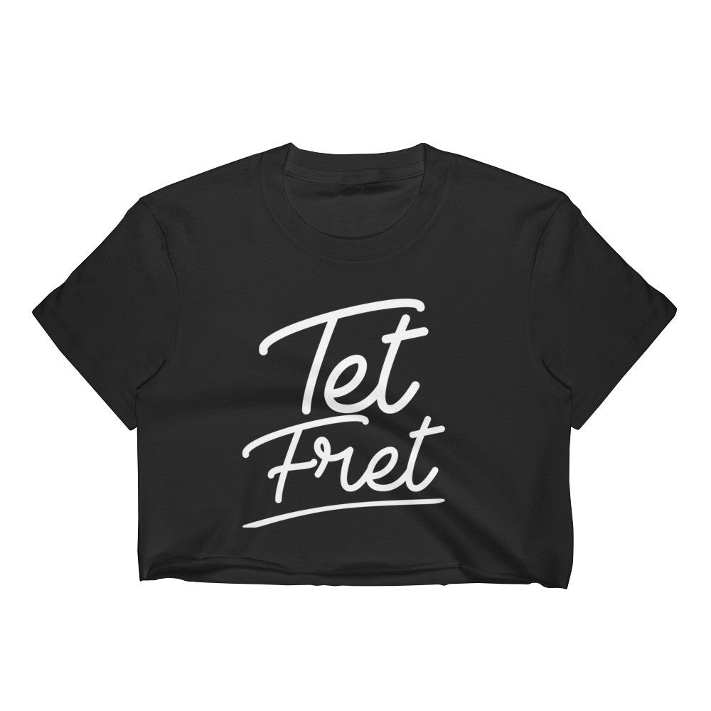 Tet Fret Women's Crop Top - Haitian Clothing