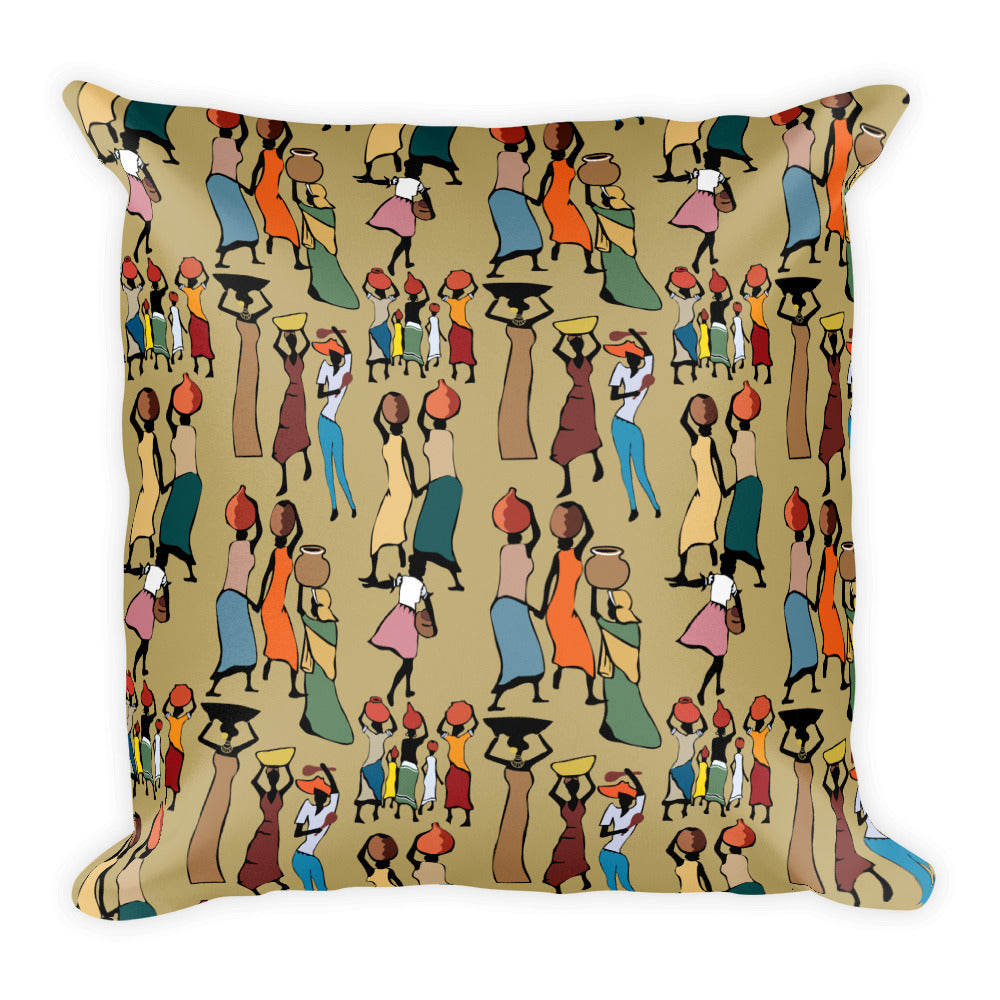 Square Pillow - Haitian Clothing