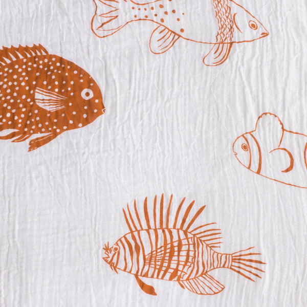 A Very Fishy Swaddle