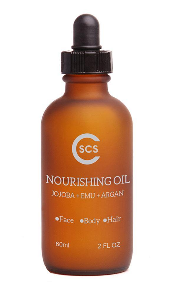 Nourishing Oil with Jojobo, Argan, and Emu Oil