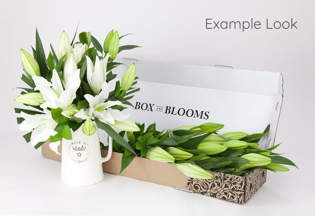 Straight Blooms (Florists Choice)