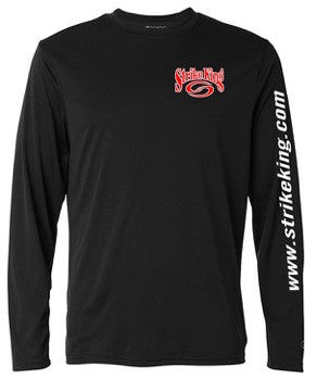 Black Long Sleeve Moisture Wicking Shirt - CW26B