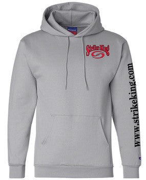 Grey Hooded Sweatshirt - 1260G