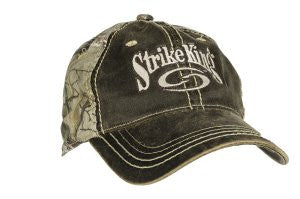 Unconstructed Brown/Realtree Camo Cap - C819